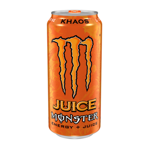 Monster Orange Khaos, bevanda energetica all'arancia da 473ml (4191766315105)
