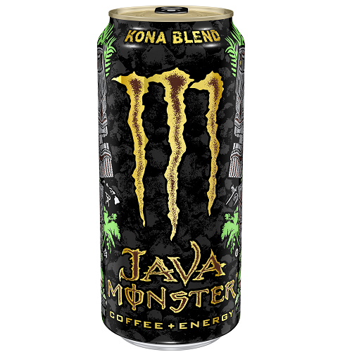 Monster Java Kona Blend, bevanda energizzante al caffè kona da 443ml (4192169853025)