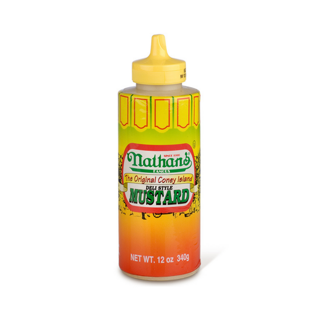 Nathan's Famous The Original Coney Island Mustard