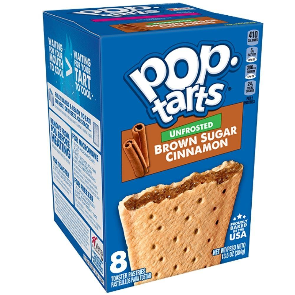 Pop Tarts Unfrosted Brown Sugar Cinnamon (4780553076833)
