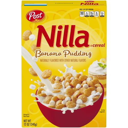 Post Nilla Cereal Banana Pudding