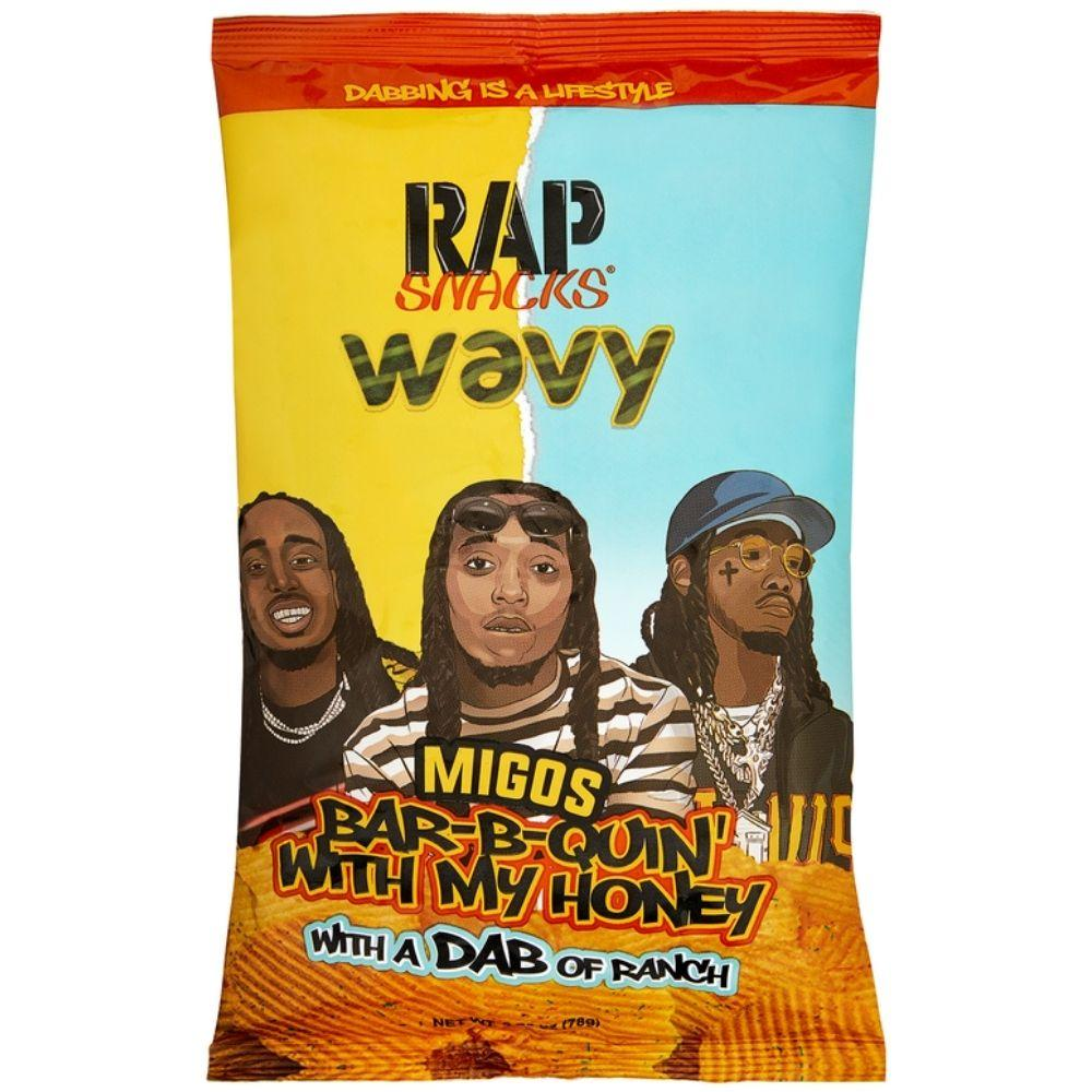 Rap Snack Wavy Bar-B-Quin' with My Honey & Ranch (4780565889121)