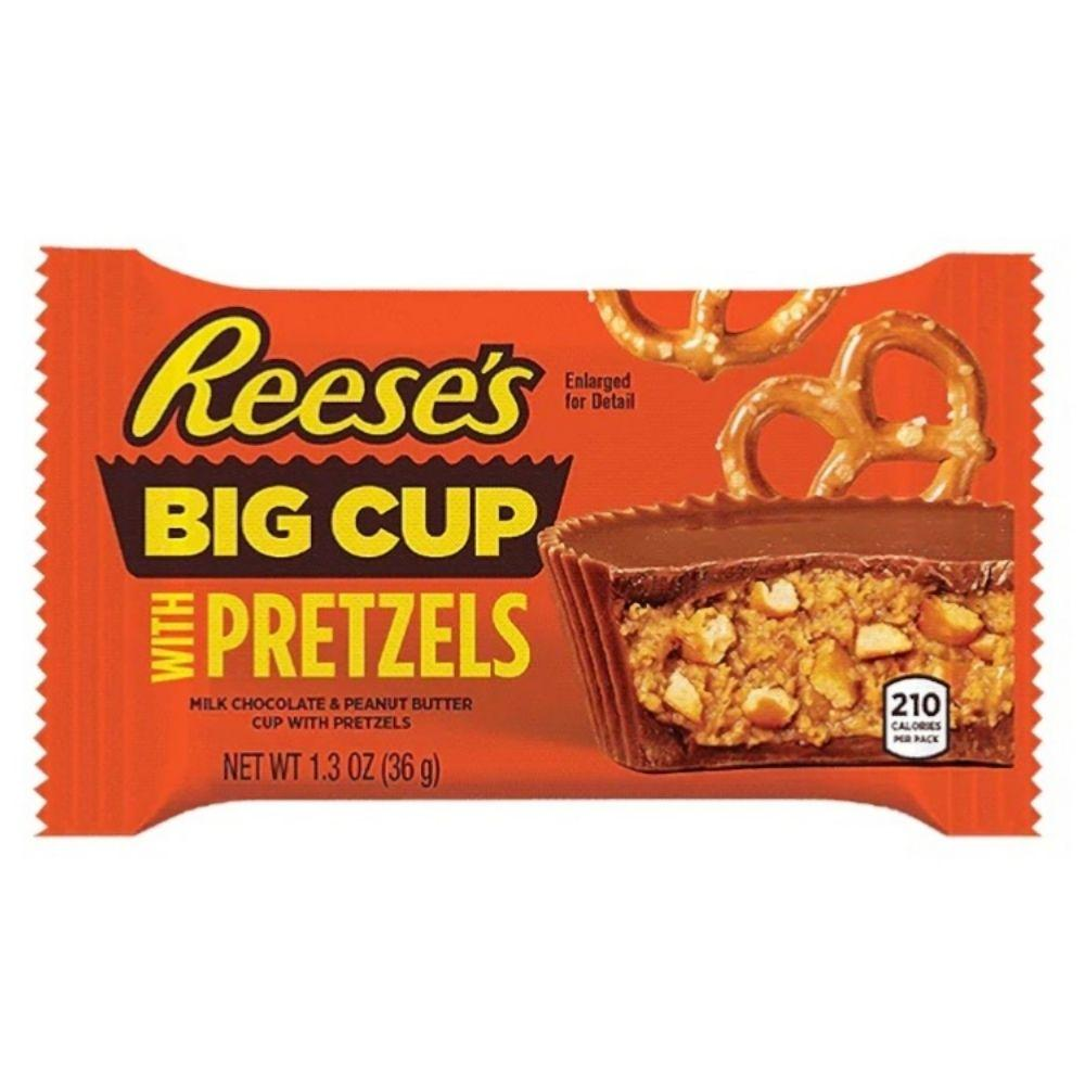 Reese's Big Cup With Pretzel