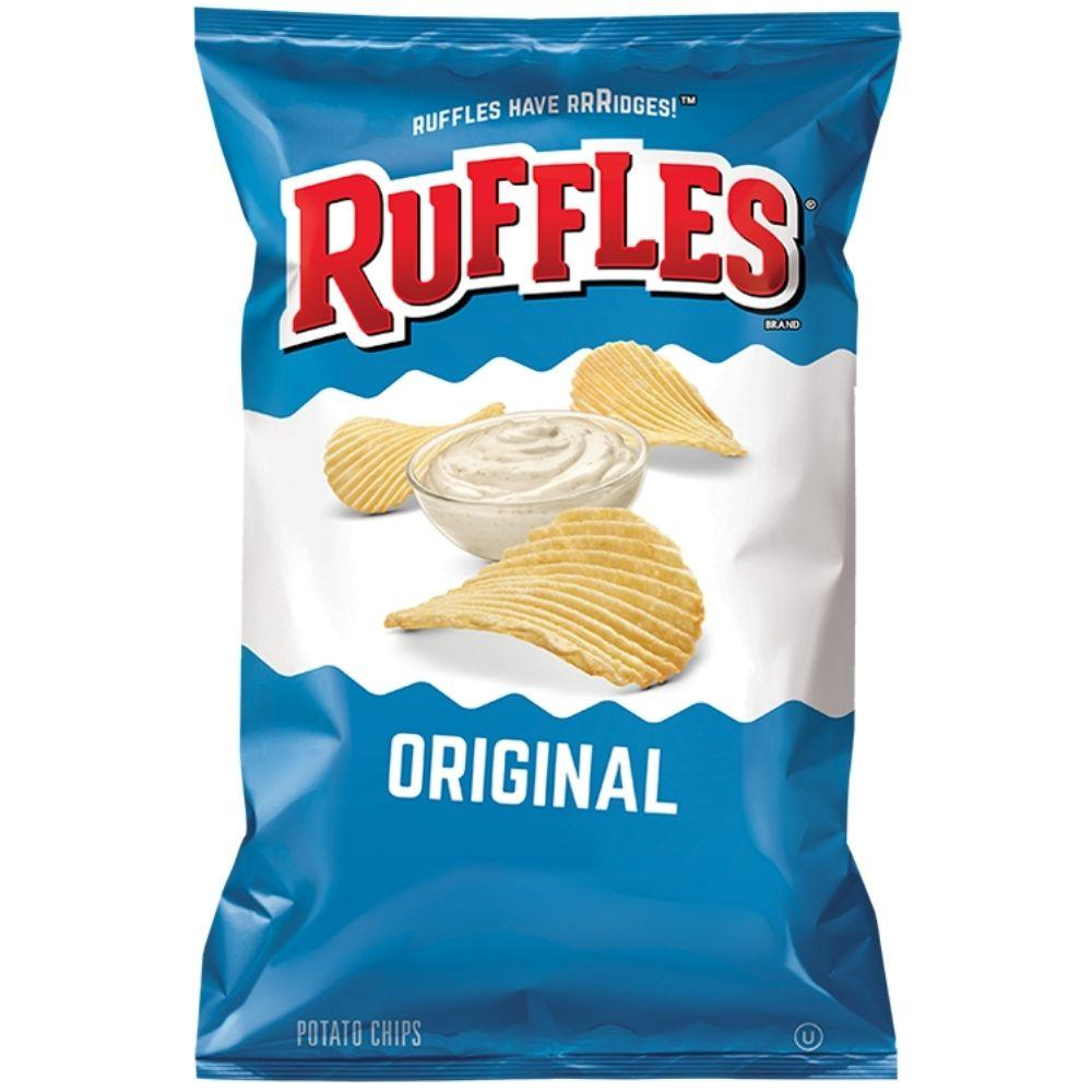 Ruffles Potato Chips Regular, (4780565332065)