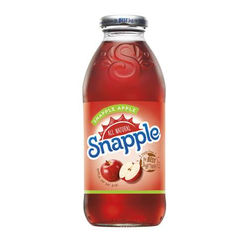 Snapple Apple, bevanda alla mela rossa da 473 ml (1954228502625)