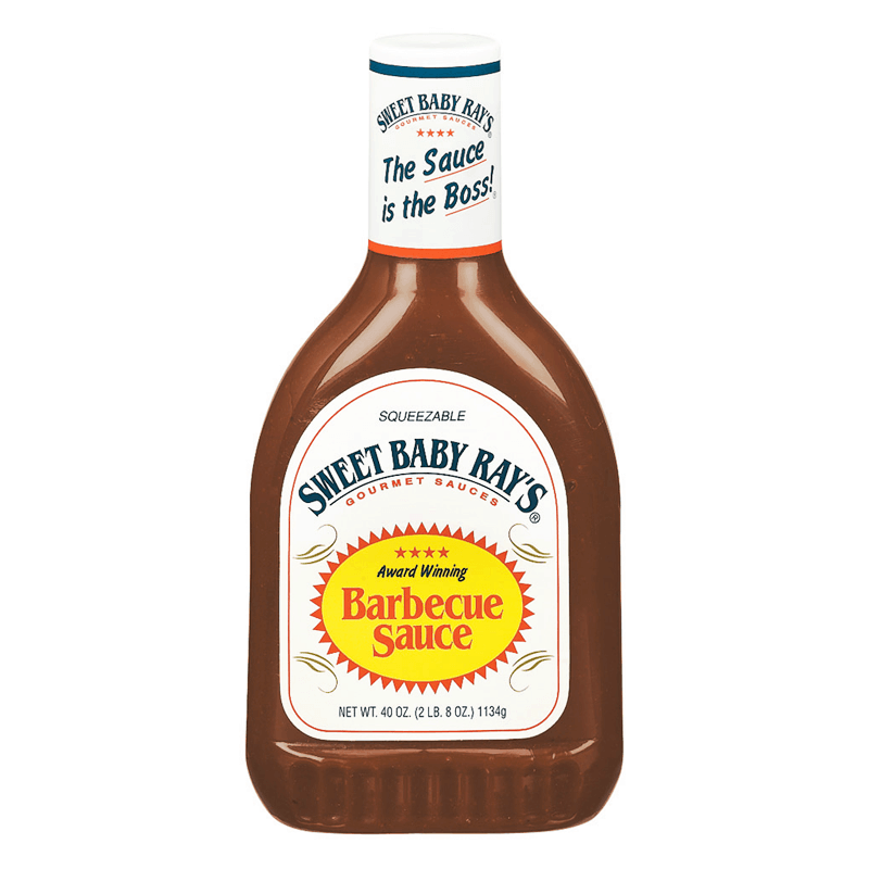 Sweet Baby Ray's Barbecue Sauce, salsa barbecue da 510g (1954226274401)