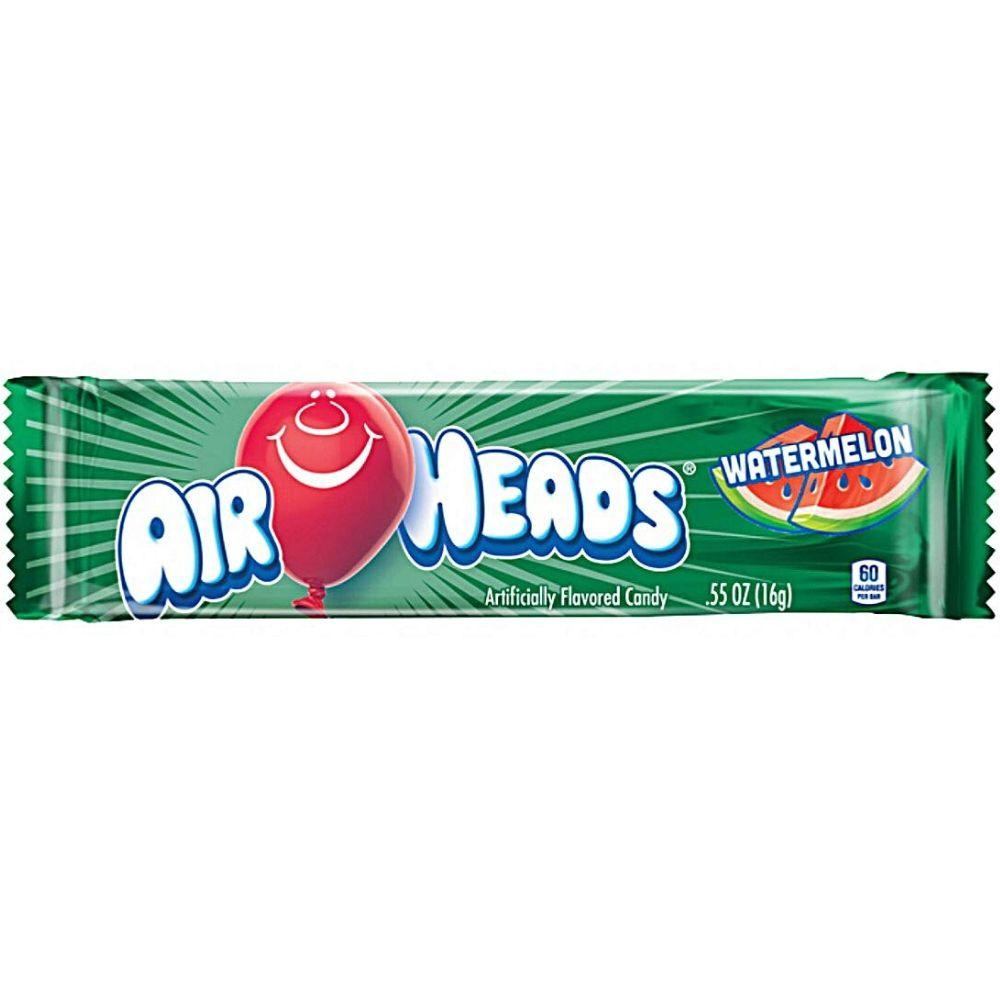 Airheads Watermelon, caramella all'anguria da 16g (1954228207713)