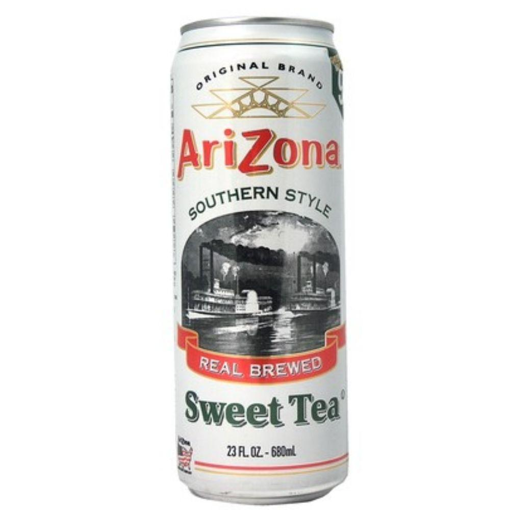 Arizona Southern Style Sweet Tea, thè nero da 680ml
