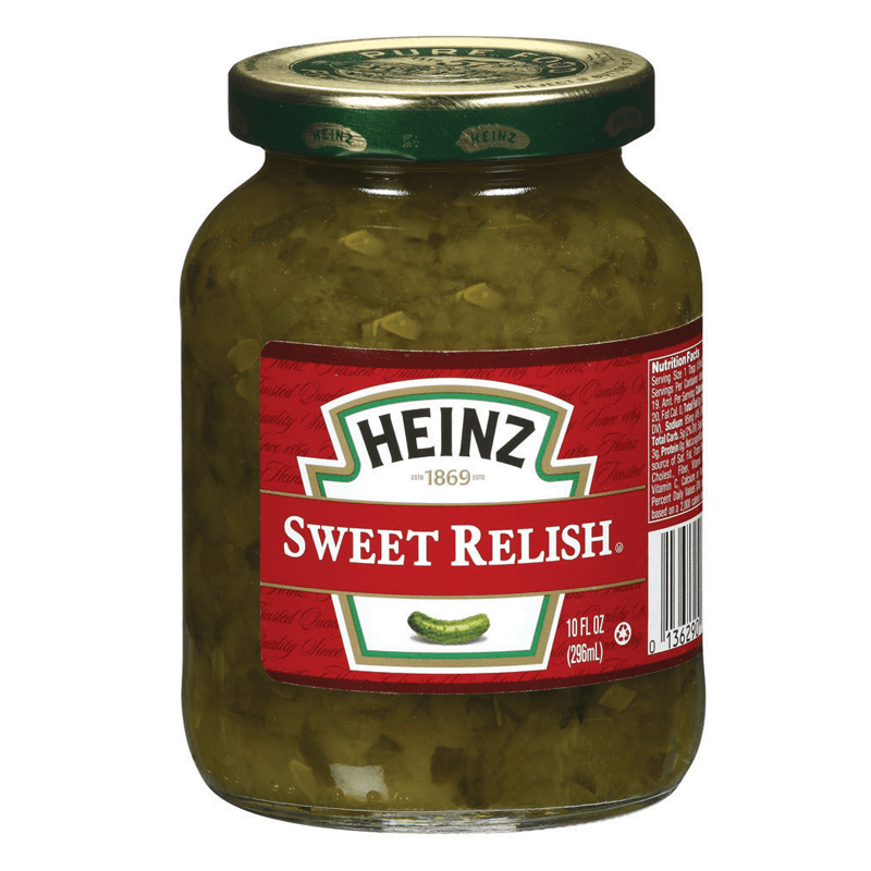 Heinz Sweet Relish, condimento al cetriolo da 296 ml (2036325711969)