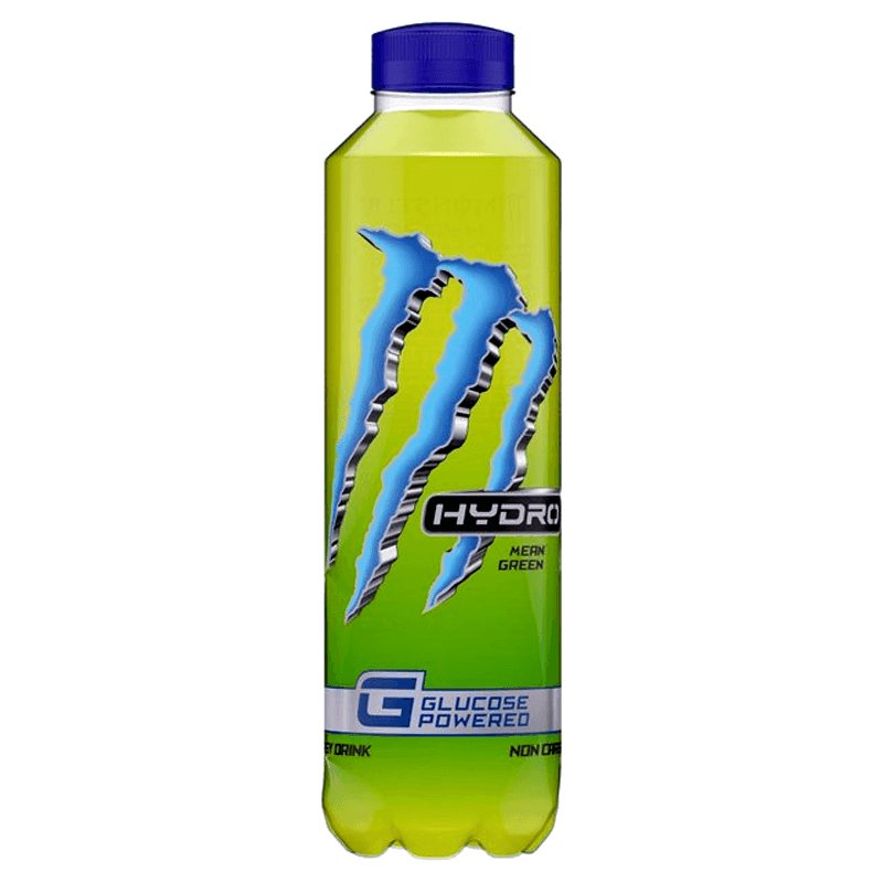 Monster Hydro Mean Green, energy drink alla frutta da 750 ml (1954217295969)