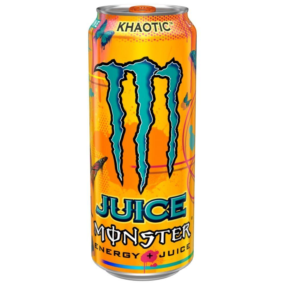 Monster Khaotic, energy drink alla frutta da 473ml