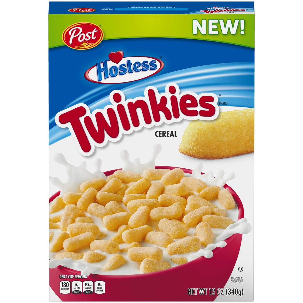 Post Hostess Twinkies Cereal, cereali da 340gr (4553984999521)