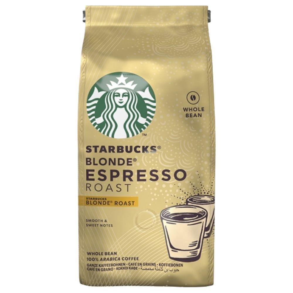 Starbucks Ground & Roast Blonde Espresso, preparato in polvere per caffè da 200g (4784094183521)