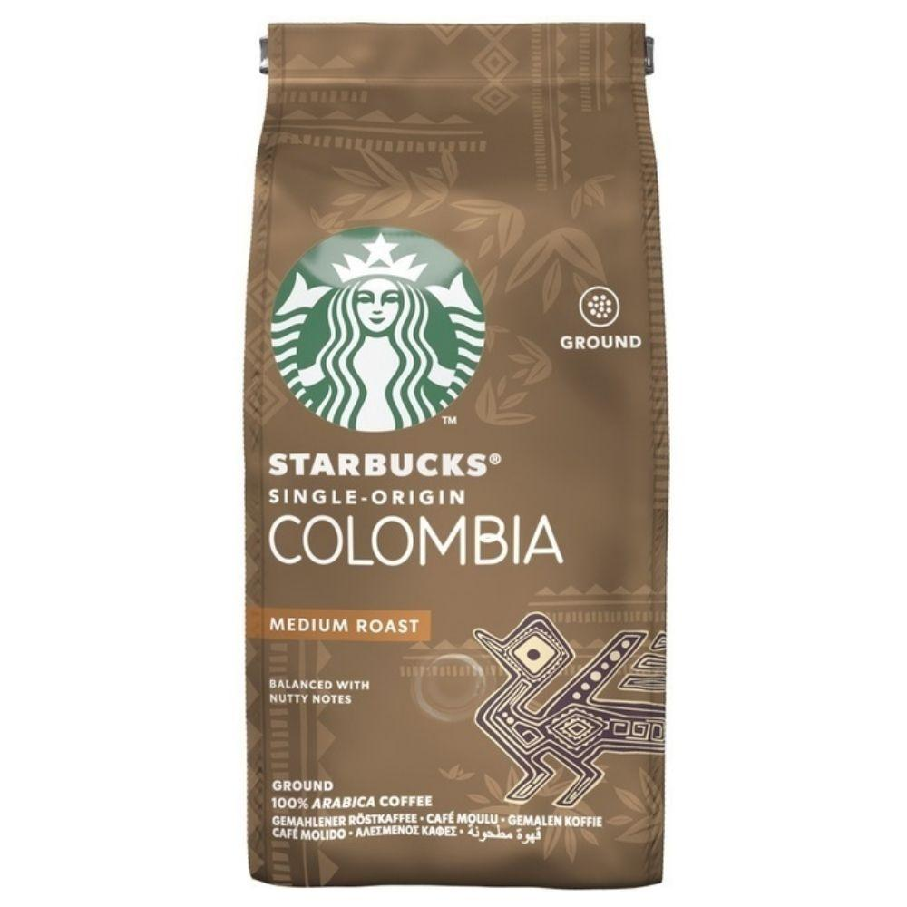 Starbucks Roast & Ground Colombia, preparato in polvere per caffè da 200g (1954212184161)