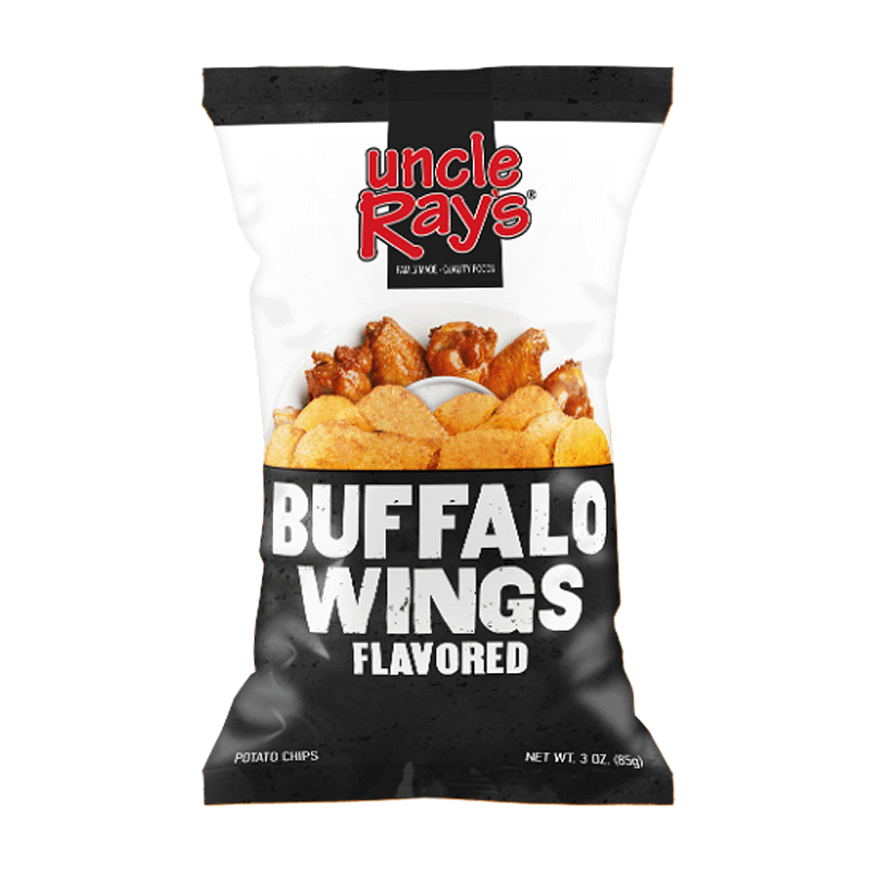 Uncle Ray's Buffalo Wings Flavored