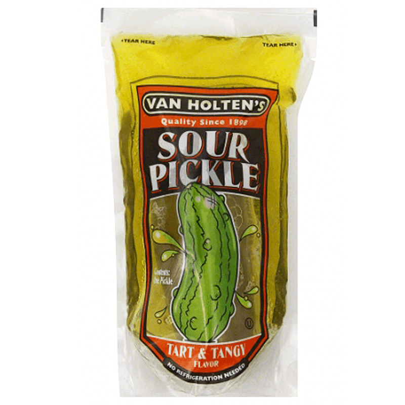 Van Holten's Sour Pickle Tart and Tangy Flavor