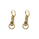 Good luck figa pair of earrings