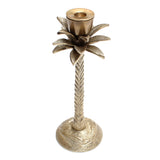 Palmtree candle holder