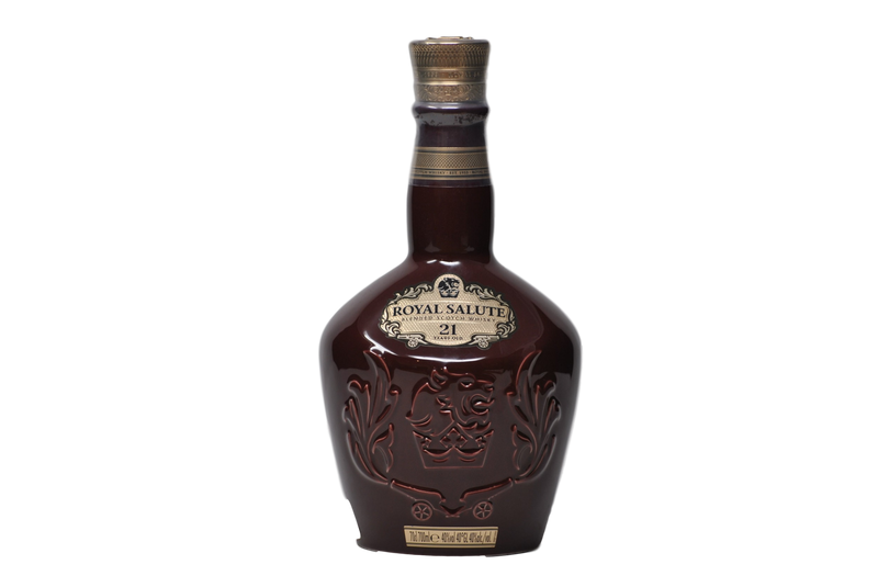 "Blended Scotch Whisky 21 Anni ""Royal salute"" - Chivas Brothers"
