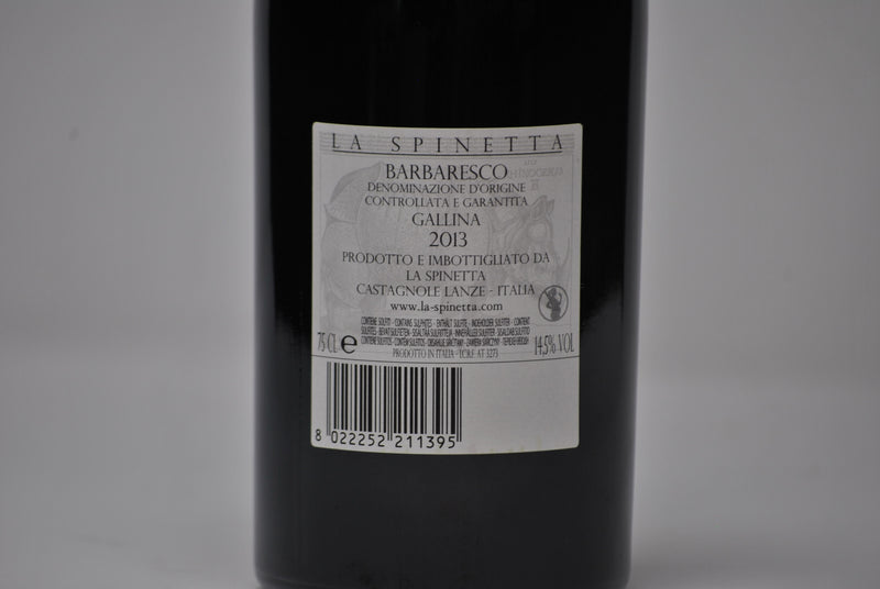 "Barbaresco Docg ""Vursu' Gallina"" 2013-La Spinetta Rivetti"