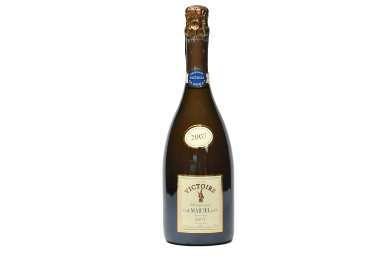 "CHAMPAGNE BRUT ""CUVEE VICTOIRE"" 2007 - G.H. MARTEL & CO."