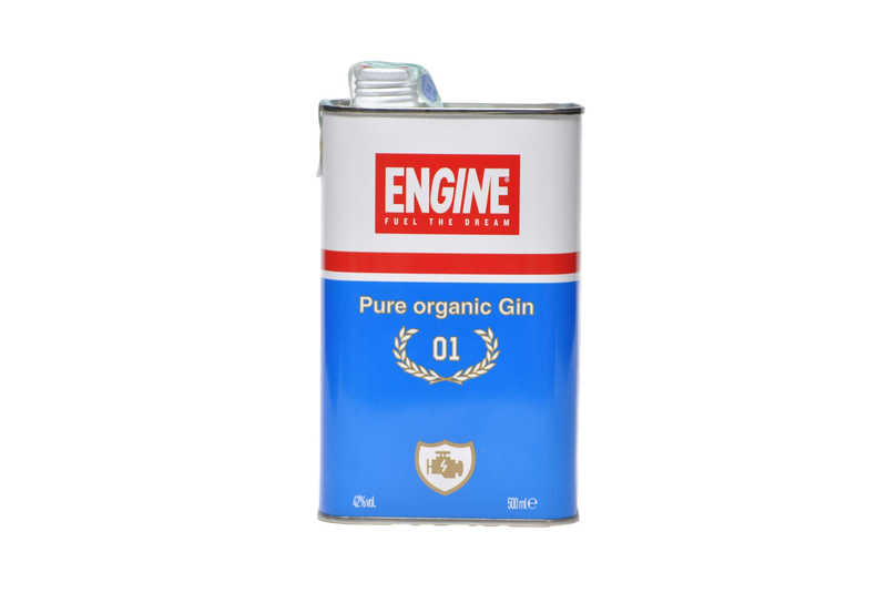 "Pure Organic Gin ""Engine 01"" - Engine"
