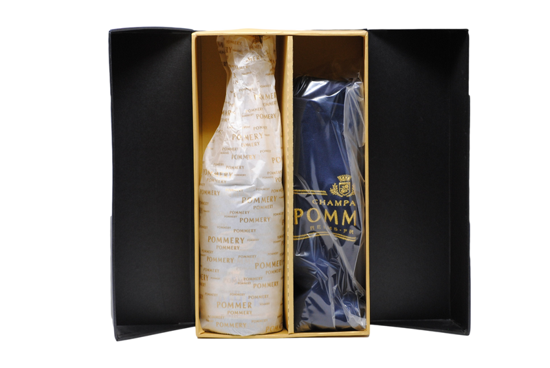 COFANETTO LIMITED EDITION CHAMPAGNE GRAND CRU ROYAL 2006 (CON GREMBIULE IN OMAGGIO) - POMMERY
