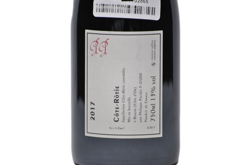 Cote Rotie 2017 - PHILIPPE PACALET