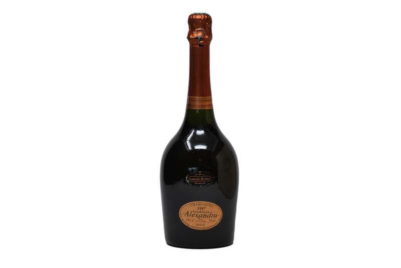"CHAMPAGNE BRUT GRAND CUVEE ROSE ""ALEXANDRA"" 1997 - LAURENT PERRIER"