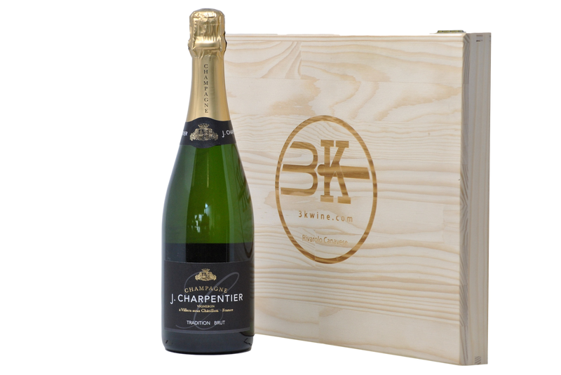 "CHAMPAGNE BRUT ""TRADITION"" - J. CHARPENTIER"