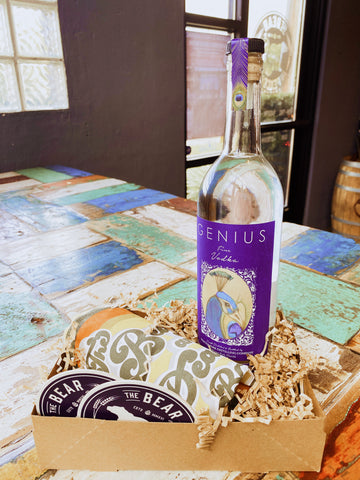 Brewstillery Genius Vodka & Swag Basket