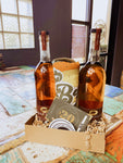 Bear Gully Classic Bourbon and Swag Basket