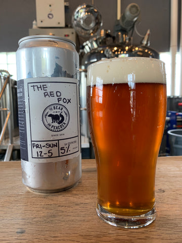 The Red Fox - 32oz Crowler