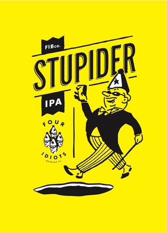 Four Idiots Brewing Company Collaboration | Stupider Deux - 32oz Crowler