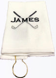 Personalized Golf Towel - Team Towels - Machine Embroidery