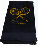Personalized Tennis Towel - Team Towels - Machine Embroidery