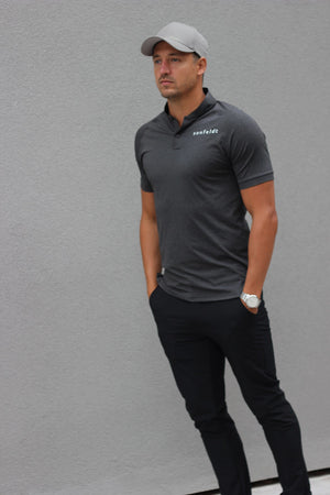 Polo Dark grey melange