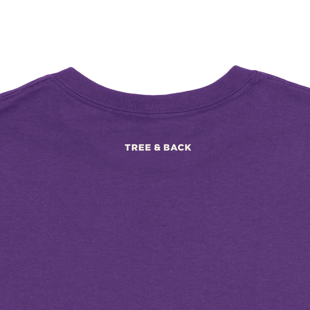 Tree and Back - Girls - Youth Short Sleeve T-Shirt