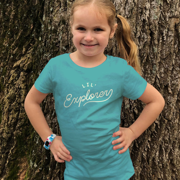 Lil' Explorer - Girls -  Youth Short Sleeve T-Shirt