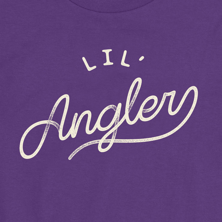 Lil' Angler - Girls - Youth Short Sleeve T-Shirt