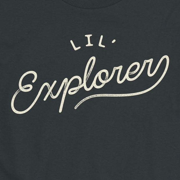 Lil' Explorer - Boys - Youth Short Sleeve T-Shirt - NightSky