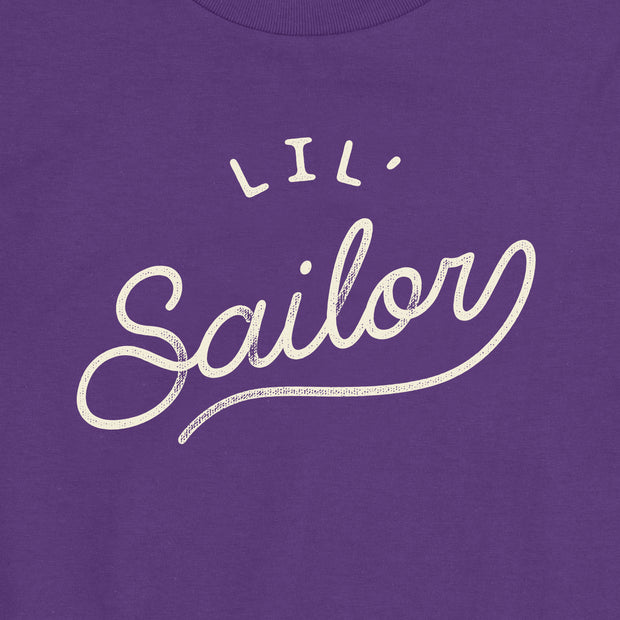 Lil' Sailor - Girls - Youth Short Sleeve T-Shirt