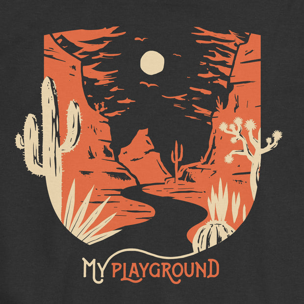 My Playground - Desert - Boys - Youth Short Sleeve T-Shirt