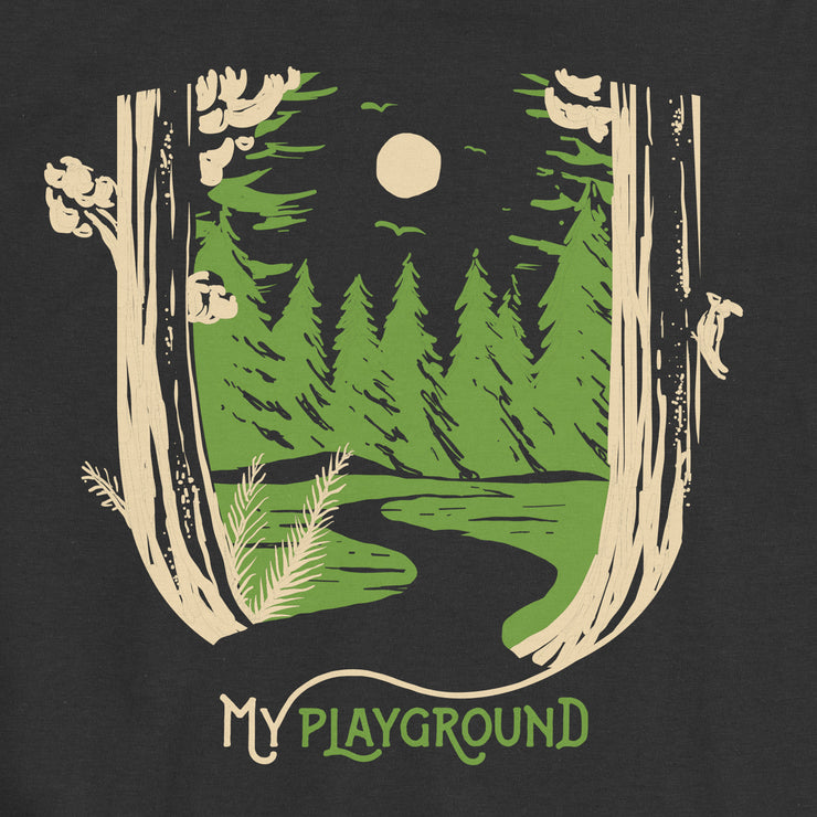 My Playground - Forest - Infant - Youth Short Sleeve T-Shirt