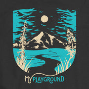 My Playground - Mountain - Boys - Youth Short Sleeve T-Shirt