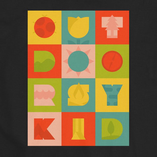 Outdoorsy Kid - Infant - Youth Short Sleeve T-Shirt