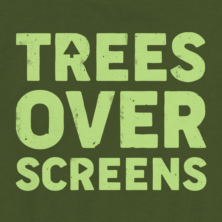 Trees Over Screens - Unisex - Adult Short Sleeve T-Shirt