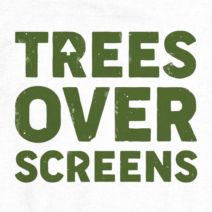 Trees Over Screens - Forest - Unisex - Adult Short Sleeve T-Shirt