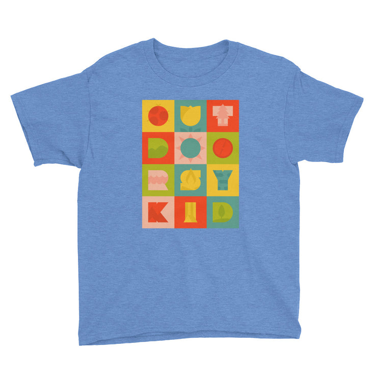 Outdoorsy Kid - Boys - Youth Short Sleeve T-Shirt