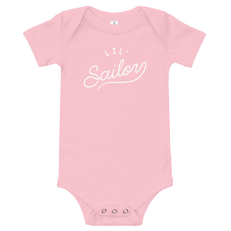 Lil' Sailor - Infant - Youth Onesie - Pink